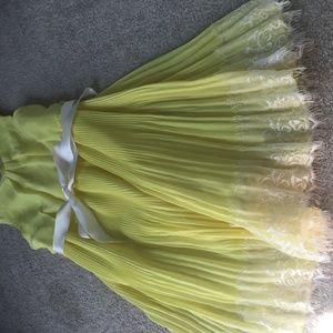 cute yellow dress for girls